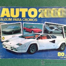 Coleccionismo Álbumes: ALBUM DE CROMOS AUTO 2000. Lote 29717618