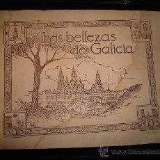Coleccionismo Álbumes: LAS BELLEZAS DE GALICIA, JUAN GIL CAÑELLAS, OVIEDO, ESPAÑA TURÍSTICA Y MONUMENTAL, AÑOS 20. Lote 30185675