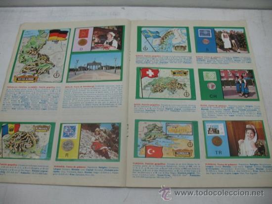 Coleccionismo Álbumes: ALBUM CON CROMOS AUTOADHESIVOS Y M,ETALIZADOS -TODA EUROPA- - Foto 5 - 30187934