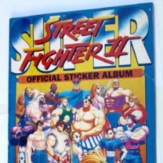 Coleccionismo Álbumes: SUPER STREET FIGHTER II - OFFICIAL STICKER ALBUM - MERLIN COLLECTIONS -. Lote 30453291
