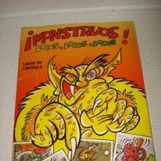 Coleccionismo Álbumes: ANTIGUO ALBUM DE CROMOS **MONSTRUOS LOCOS , LOCOS, LOCOS** DE CROMOS ROS . AÑO 1980S.. Lote 30516430