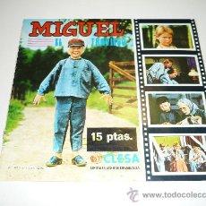 Coleccionismo Álbumes: ÁLBUM DE CROMOS DE MIGUEL EL TRAVIESO (ED. CLESA) NO CROPAN BIMBO 1977 VACIO PLANCHA . Lote 30684673