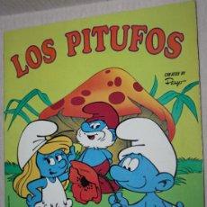 Coleccionismo Álbumes: LOS PITUFOS : ALBUM DE CROMOS DE PANINI . COMPLETO AL 49%. Lote 30831261