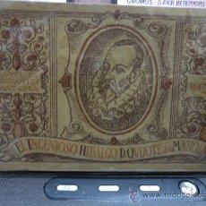 Coleccionismo Álbumes: EL INGENIOSO HIDALGO DON QUIJOTE DE LA MANCHA. Lote 30882861