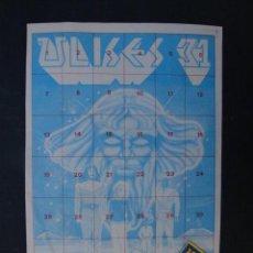 Coleccionismo Álbumes: MINI ALBÚM DE ULISES 31 CON SOBRE DE 4 CROMOS. Lote 151460128