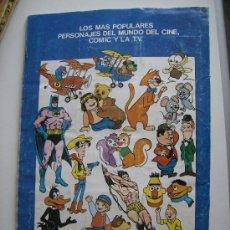 Coleccionismo Álbumes: FESTIVAL DEL DIBUJO ANIMADO. FALTAN 11 CROMOS. PACOSA DOS, 1981.. Lote 31008234