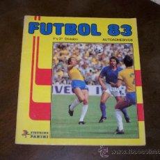 Coleccionismo Álbumes: FUTBOL 83 - PANINI - SOLO TIENE 30 CROMOS. Lote 31071480