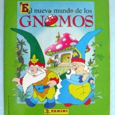 Coleccionismo Álbumes: EL NUEVO MUNDO DE LOS GNOMOS - EDITORIAL PANINI 1997 - A FALTA SOLO DEL CROMO 205. Lote 31080469
