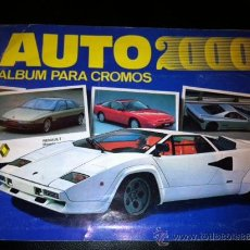 Coleccionismo Álbumes: ALBUM CROMOS AUTO 2000. Lote 31133170