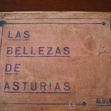 Coleccionismo Álbumes: ALBUN BELLEZAS DE ASTURIAS 1933 ES EL NUMERO 1. Lote 31176066