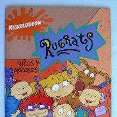 Collectable Incomplete Albums - Rugrats, ricos y mocosos - Editorial Panini 1995 - tiene 156 cromos - 31226984