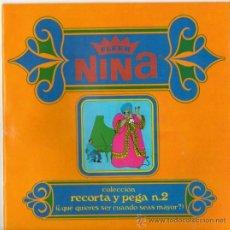 Coleccionismo Álbumes: ALBUM DE CHICLE NIÑA. Lote 31247372