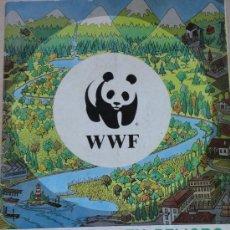 Coleccionismo Álbumes: WWF NATURALEZA EN PELIGRO PANINI F-3. Lote 31314930