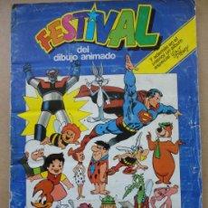 Coleccionismo Álbumes: FESTIVAL DEL DIBUJO ANIMADO PACOSADOS F-16. Lote 31315591