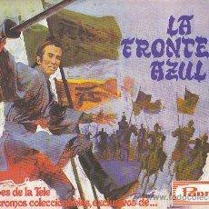 Coleccionismo Álbumes: ALBUM VACIO LA FRONTERA AZUL PANRICO. Lote 31611578