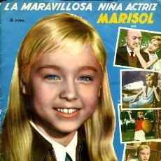 Coleccionismo Álbumes: ALBUM UN RAYO DE LUZ , MARISOL , FALTAN 7 CROMOS , EDICIONES FHER , 144 CROMOS , ORIGINAL, H. Lote 59749353
