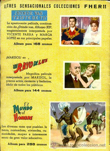 Coleccionismo Álbumes: ALBUM UN RAYO DE LUZ , MARISOL , FALTAN 7 CROMOS , EDICIONES FHER , 144 CROMOS , ORIGINAL, H - Foto 5 - 59749353