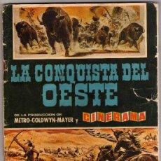 Coleccionismo Álbumes: ALBUM LA CONQUISTA DEL OESTE,DE BRUGUERA 1963. Lote 31772025