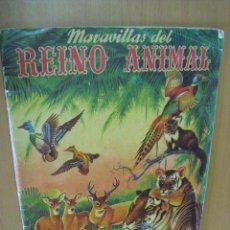 Coleccionismo Álbumes: ALBUM MARAVILLAS DEL MUNDO ANIMAL, EDITORIAL ALCE AÑOS 50. Lote 31811218