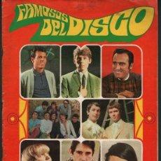 Coleccionismo Álbumes: ALBUM FAMOSOS DEL DISCO ALBUM VACIO . Lote 55331196