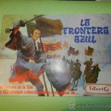 Coleccionismo Álbumes: (M) PANRICO - LA FRONTERA AZUL - 1978 - ALBUM VACIO, . Lote 32043712