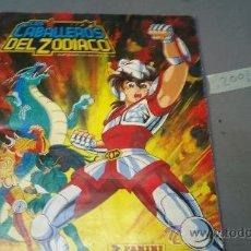Coleccionismo Álbumes: ALBUM CABALLEROS DEL ZODIACO . Lote 32292831