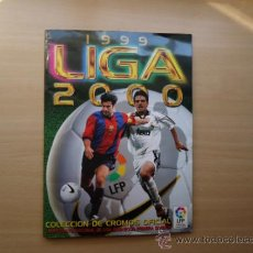 ÁLBUM LIGA 1999 - 2000 CROMO EDICIONES ESTE -
