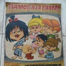 Coleccionismo Álbumes: ALBUM DE CROMOS VAMOS A LA CAMA, DE LA FAMILIA TELERIN. Lote 32598404
