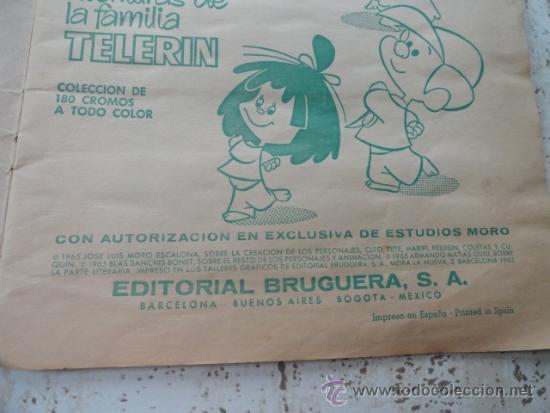 Coleccionismo Álbumes: ALBUM DE CROMOS VAMOS A LA CAMA, DE LA FAMILIA TELERIN - Foto 4 - 32598404