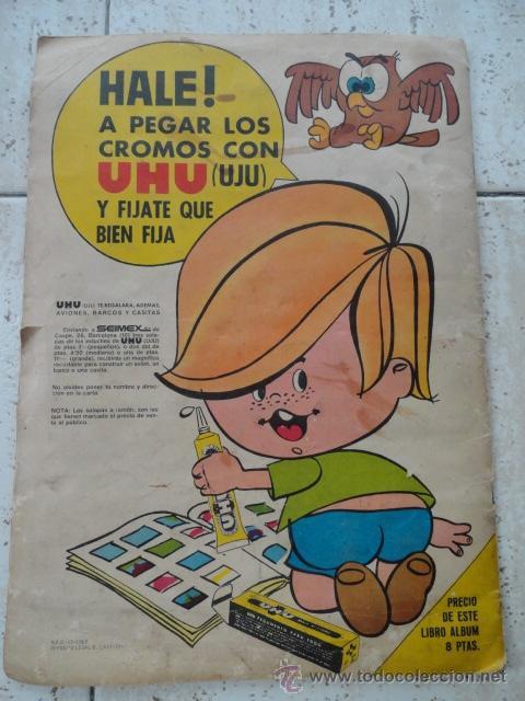 Coleccionismo Álbumes: contraportada - Foto 9 - 32598404