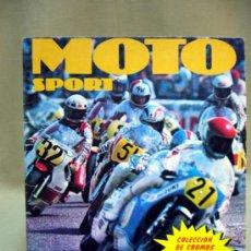 Coleccionismo Álbumes: ALBUM, MOTO SPORT, PANINI, 1980, LA MITAD DE CROMOS. Lote 32685691