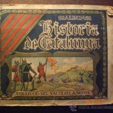 Coleccionismo Álbumes: HISTORIA DE CATALUNYA - CHOCOLATES JUNCOSA. Lote 33260717