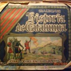 Coleccionismo Álbumes: HISTORIA DE CATALUNYA CHOCOLATES JUNCOSA. Lote 33261173
