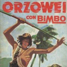 Coleccionismo Álbumes: ALBUM ORZOWEI - BIMBO; CONTIENE 13 CROMOS. Lote 33315833