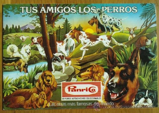 ALBUM TUS AMIGOS LOS PERROS, DE PANRICO - VACIO (Coleccionismo - Cromos y Álbumes - Álbumes Incompletos)