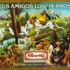 Coleccionismo Álbumes: ALBUM TUS AMIGOS LOS PERROS, DE PANRICO - VACIO. Lote 33418282