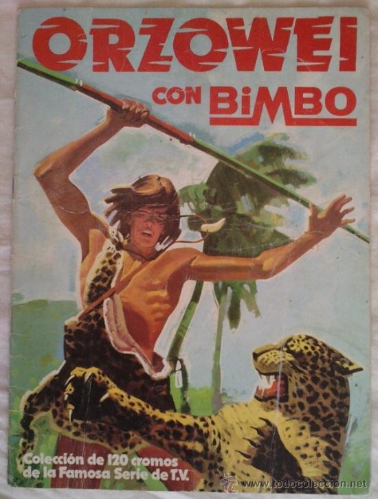 ALBUM ORZOWEI; BIMBO - VACIO (Coleccionismo - Cromos y Álbumes - Álbumes Incompletos)