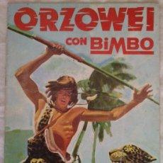 Coleccionismo Álbumes: ALBUM ORZOWEI; BIMBO - VACIO. Lote 56948414