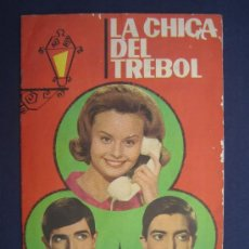 Coleccionismo Álbumes: LA CHICA DEL TREBOL CON ROCIO DURCAL - ALBUM EDITADO POR FHER EN 1964 - INCOMPLETO. Lote 33487850