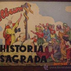 Coleccionismo Álbumes: HISTORIA SAGRADA. Lote 33459249