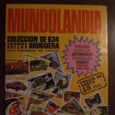 Coleccionismo Álbumes: MUNDOLANDIA. Lote 33567709