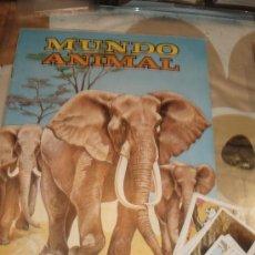 Coleccionismo Álbumes: 37 CROMOS DEL ALBUM MUNDO ANIMAL FHER. Lote 33678140