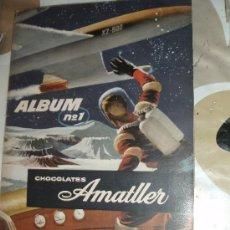 Coleccionismo Álbumes: ALBUM Nº 1 CHOCOLATES AMATLLER. Lote 33682943