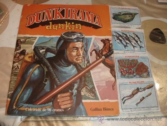 ALBUM DUNKIRAMA DUNKIN (Coleccionismo - Cromos y Álbumes - Álbumes Incompletos)