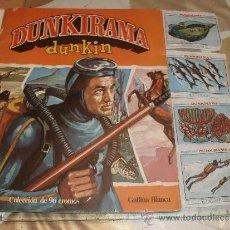 Coleccionismo Álbumes: ALBUM DUNKIRAMA DUNKIN. Lote 33692044