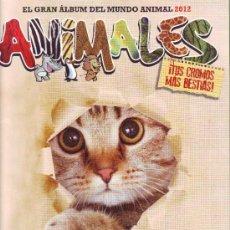Coleccionismo Álbumes: EL GRAN ALBUM DEL MUNDO ANIMAL.ALBUM CROMOS VACIO.. Lote 33712812