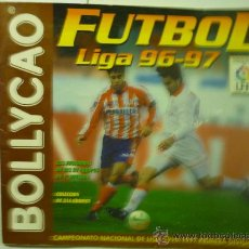 Coleccionismo Álbumes: ALBUM INCOMPLETO DE FUTBOL BOLLYCAO TEMPORADA 96-97. Lote 33774315