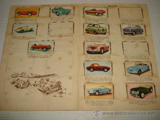 Coleccionismo Álbumes: Antiguo Album ** AUTOMOVILES **de Editorial FHER del año 1958 - Foto 2 - 34147623