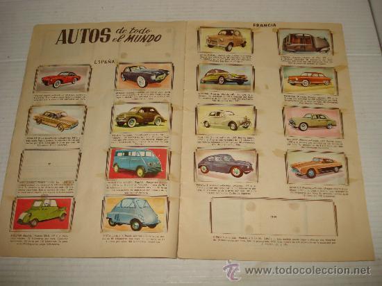 Coleccionismo Álbumes: Antiguo Album ** AUTOMOVILES **de Editorial FHER del año 1958 - Foto 4 - 34147623