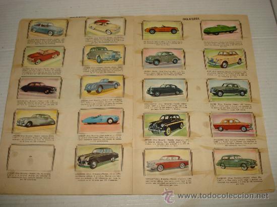 Coleccionismo Álbumes: Antiguo Album ** AUTOMOVILES **de Editorial FHER del año 1958 - Foto 3 - 34147623